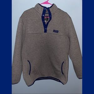 Ribbed Simply Southern pullover XL